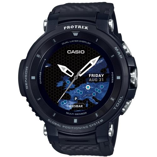 <カシオ>Smart Outdoor Watch PROTRECK Smart WSD-F30-BK(ブラック)