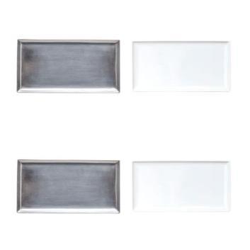 <モダンリビング セレクション>食卓を彩る長方形プレートセット