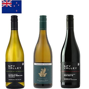 ANA機内ワインで巡る、ニュージーランドワイン3本セット