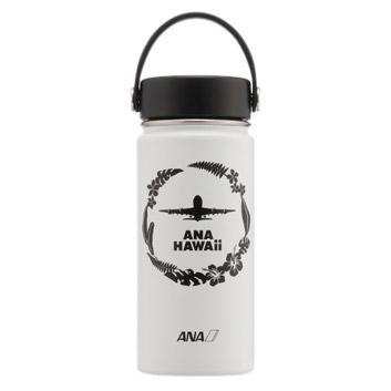 <ANAオリジナル>Hydro Flask ANA HAWAiiボトル&フリップキャップセット ホワイト
