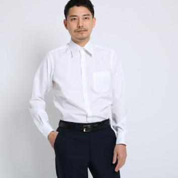 <タケオキクチ>【ノンアイロン仕様】100/2ブロードシャツ