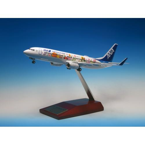 <ANAオリジナル>NH20148 1:200 BOEING 737-800 JA85AN 東北FLOWER JET ABS完成品