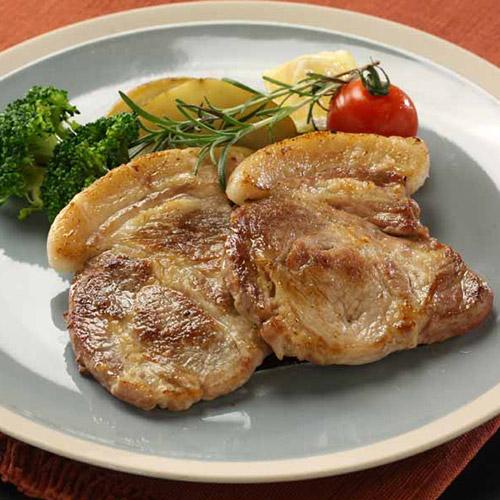 沖縄県産ブランド豚「キビまる豚」ステーキセット