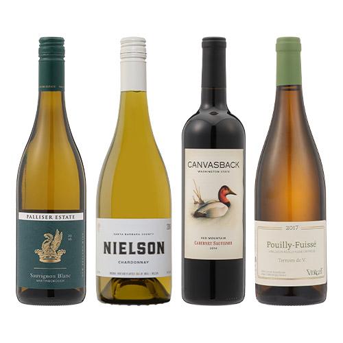 【送料無料】2018年度機内ワイン ファーストクラス赤白4本セット