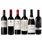 【ソムリエセレクション】世界各国おススメ!濃厚赤ワイン6本セット