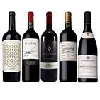 【ソムリエセレクション】世界の赤ワイン銘醸地5本セット