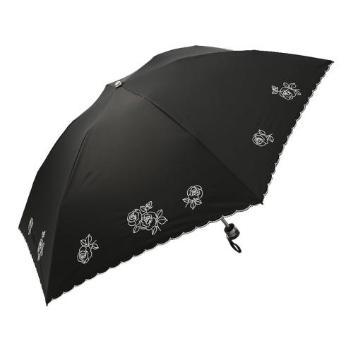 <オーロラ>  晴雨兼用パラソルミニ ローズ