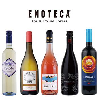 【送料無料】夏に飲みたいイタリアワイン5本セット(エノテカ)