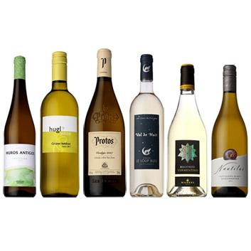 【送料無料】夏の食卓にぴったり!冷やして美味しい白ワイン6本セット