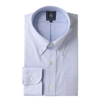 <Jプレス>PLEMIUMPLEATS ピンヘッド ボタンダウンシャツ