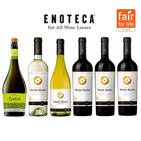 【送料無料】フェアトレードワイン6本セット(エノテカ)
