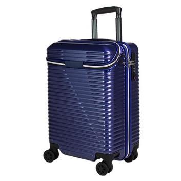 <トライデント>上開きスーツケース機内中型