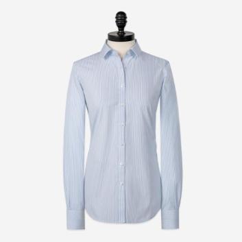 <ブルックス ブラザーズ>ノンアイロン ストレッチコットン ストライプ ドレスシャツ Fitted Fit