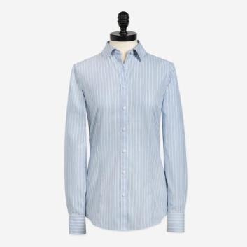 <ブルックス ブラザーズ>ノンアイロン ストレッチコットン コンプリケートストライプ ドレスシャツ Tailored Fit