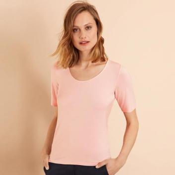 <ブルックス ブラザーズ>Red Fleece レーヨンストレッチジャージー スクープネックTシャツ