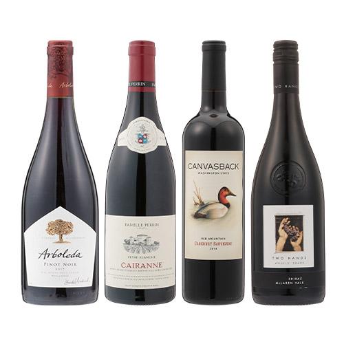 【送料無料】2018年度機内ワイン ファースト・ビジネスクラス赤ワイン4本セット