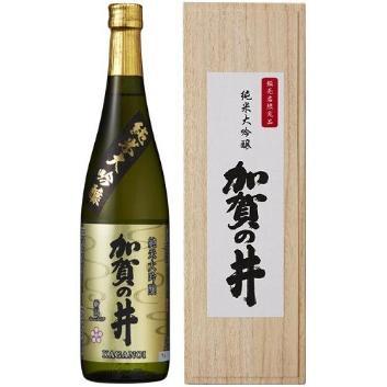 加賀の井 純米大吟醸 木箱入り