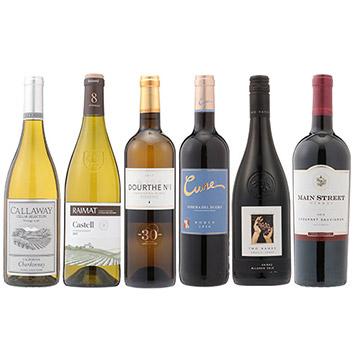 2018年度機内ワイン ビジネスクラス赤白6本セット