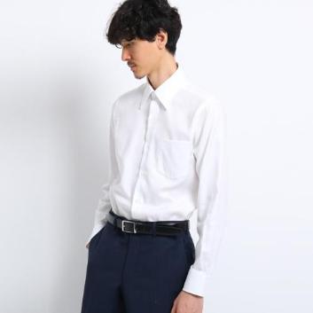 <タケオキクチ>ドビーストライプ ビジネス シャツ