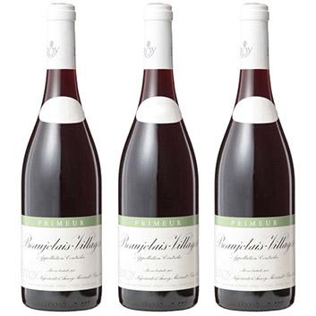 【送料無料】<ルロワ>ボージョレ・ヴィラージュ プリムール【2019】(赤ワイン)3本セット