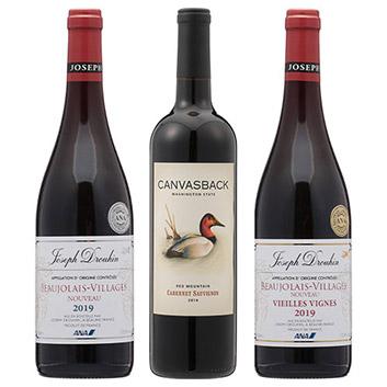 【送料無料】機内赤ワインが1本入った、ボジョレー・ヌーヴォーセット