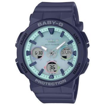 <カシオ>BABY-G Beach Traveler Series 世界6局対応電波ソーラー BGA-2500-2A2JF