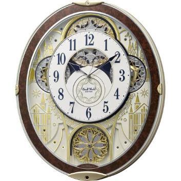 <リズム時計>からくり時計 スモールワールドノエルNS