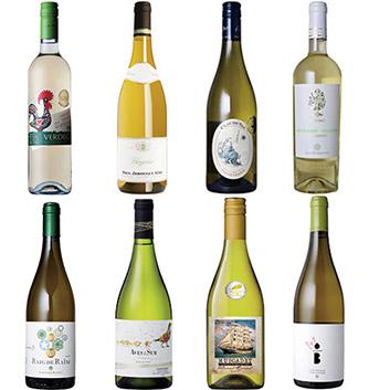 【送料無料】世界の金賞白ワイン 8本セット