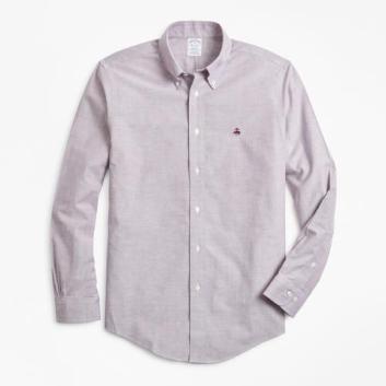 <ブルックス ブラザーズ>ノンアイロン ブルックスクール GF スポーツシャツ Regent Fit