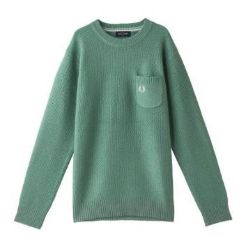 <フレッドペリー>ピケニット セーター