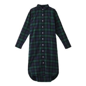 <フレッドペリー>タータン シャツドレス