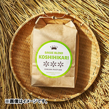 【新米】長野県産 コシヒカリ サカエブレンド 千曲リバーサイド4kg