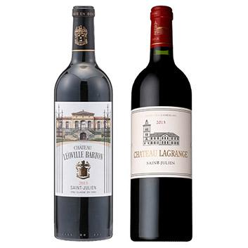 【送料無料】機内ワイン銘醸格付けボルドー2013年ヴィンテージ飲み比べセット