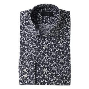 <ダーバン>TEXTAボタニカルプリントシャツ