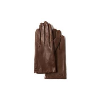 <ラコステ>レザー手袋