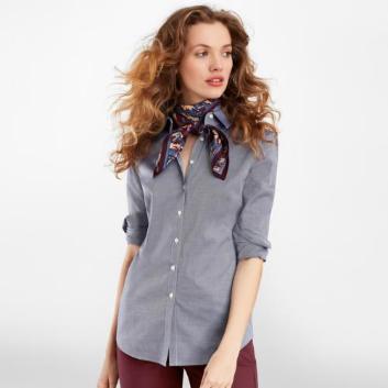 <ブルックス ブラザーズ>スーピマコットン ロイヤルオックスフォード ドレスシャツ Fitted Fit