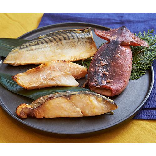 京料理【美濃吉】西京焼鮮魚食べ比べ4種セット