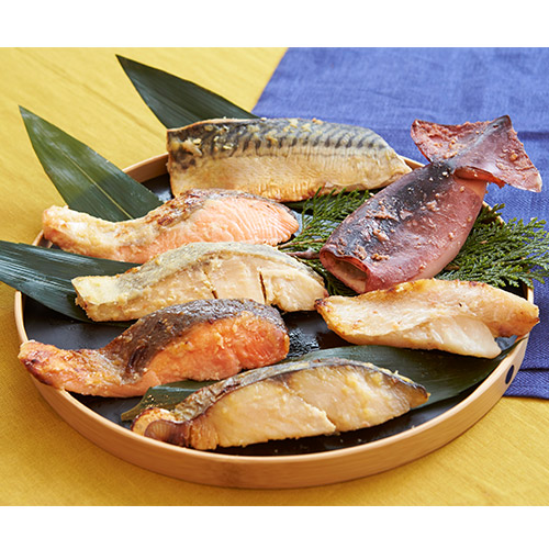 京料理【美濃吉】西京焼鮮魚食べ比べ7種セット