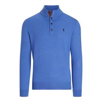 <ポロ ゴルフ>ボタンモックセーター