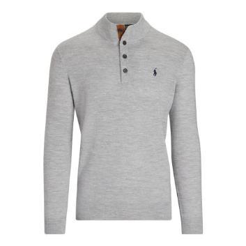 <ポロ ゴルフ>ゴルフ ボタンモックセーター