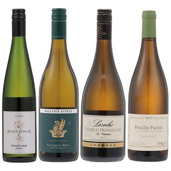 【送料無料】2018年度機内ワイン ファースト・ビジネスクラス白ワイン4本セット