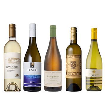 【送料無料】A-styleソムリエが選んだ、白ワイン5本セット(2020)