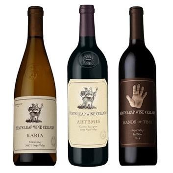 ★福袋限定★【送料無料】ナパの名門スタッグス・リープ・ワイン・セラーズ福袋3本セット