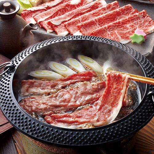 松阪牛 すきやき肉400g(モモ、バラ)