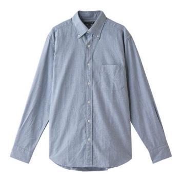 <マッキントッシュ ロンドン>メランジへリンボーンボタンダウンシャツ