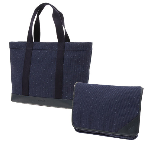 【AMCアプリ限定セット】<ANAオリジナル>ANA777-300ER First Class Fabric トート&バッグinバッグセット