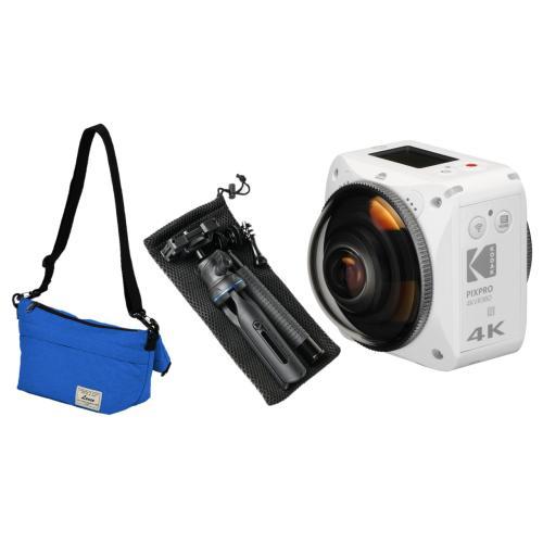 <Kodak>4KVR360(収納バッグ、マルチポッドセット)