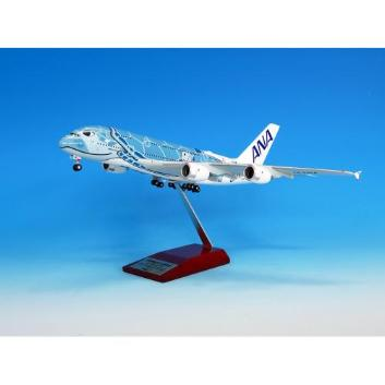 <ANAオリジナル>NH20162 1:200 AIRBUS A380 JA381A FLYING HONU ANAブルー 完成品