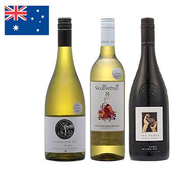 ANA機内ワインで巡る、オーストラリアワイン3本セット