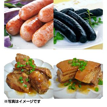 <あさひ>炙り豚&ソーセージセット
